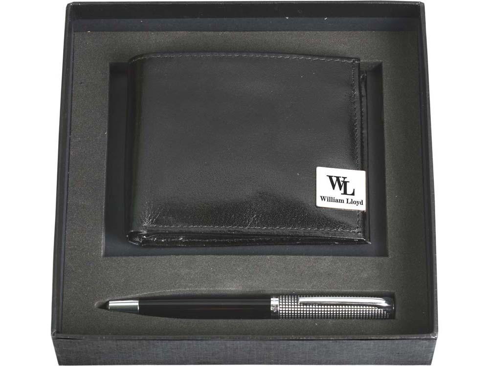 Набор William Lloyd: портмоне, ручка шариковая