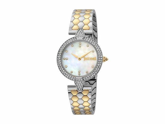 Подарочный набор: часы наручные женские, браслет (арт. 60014)