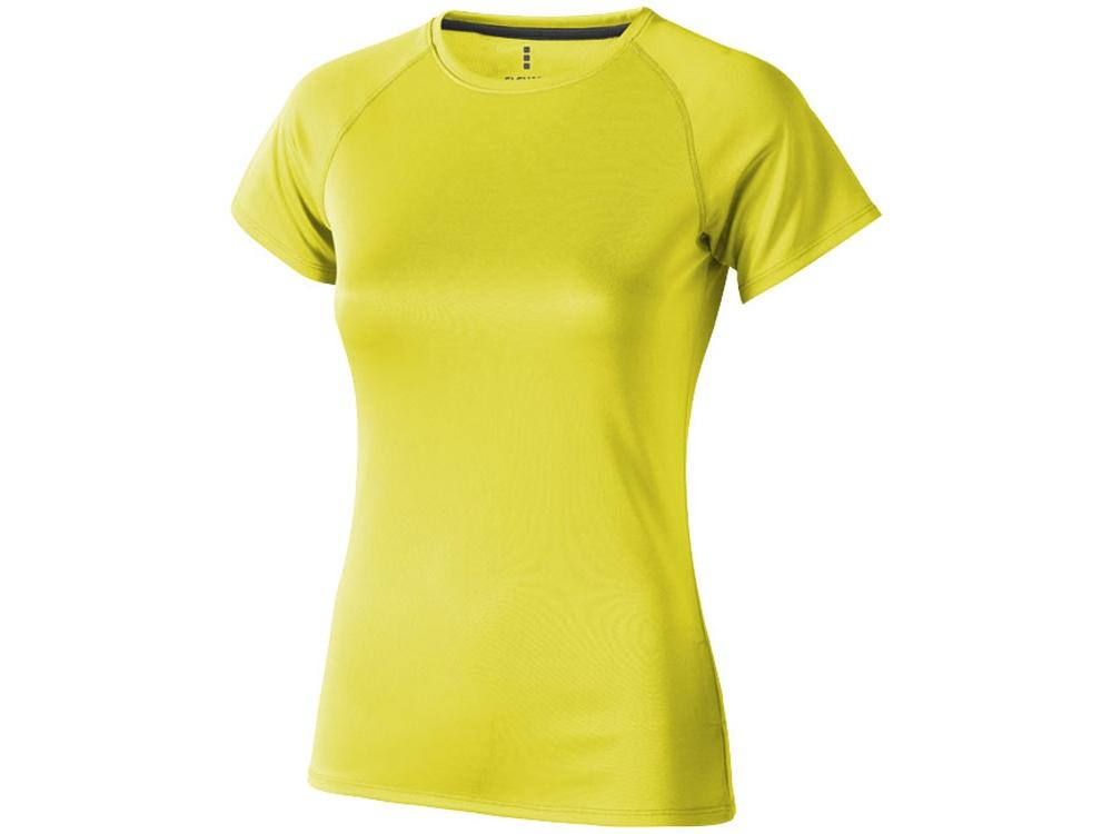 Футболка Niagara женская, неоновый желтый