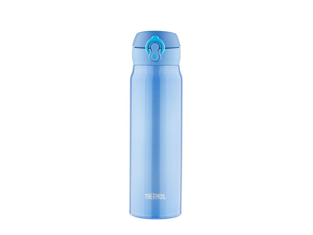 Термос со стальной колбой тм THERMOS JNL-602-MTB SS Vac. Insulated Flask,600ml, синий