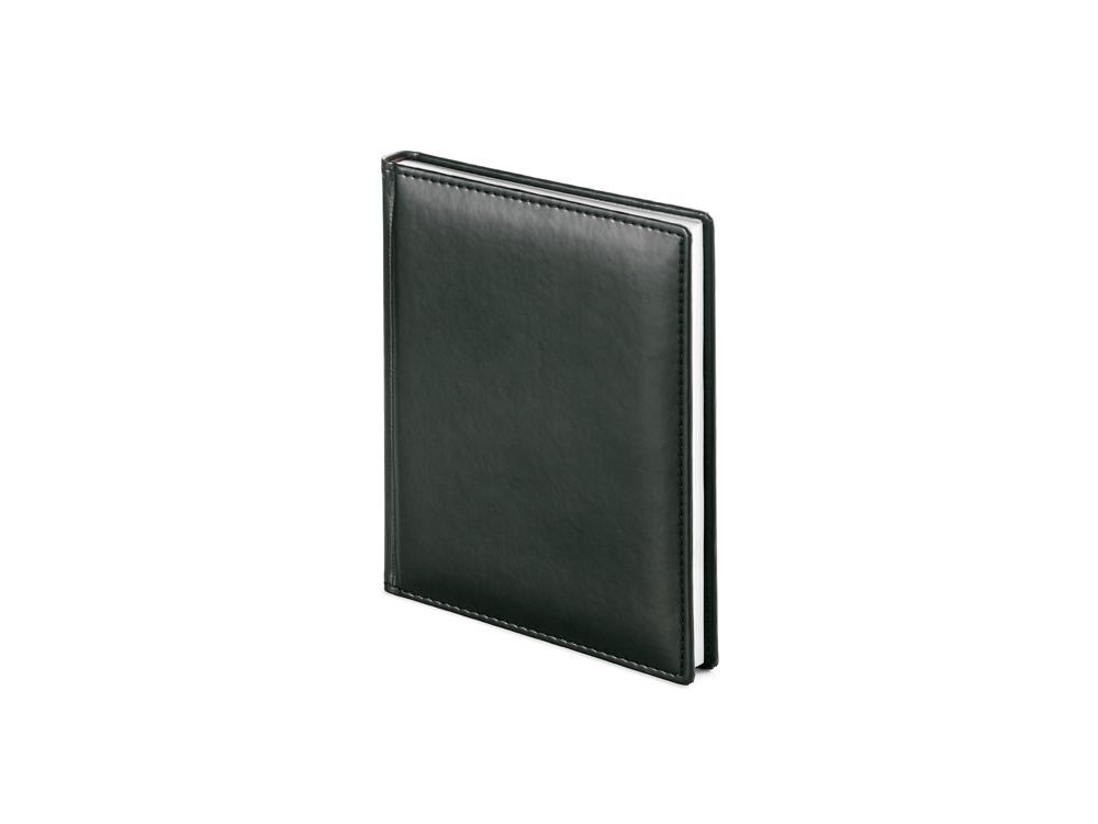 Ежедневник недатированный А6+ Velvet, черный