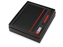 Подарочный набор «Q-edge» с флешкой, ручкой-подставкой и блокнотом А5 (арт. 700322.01), фото 2