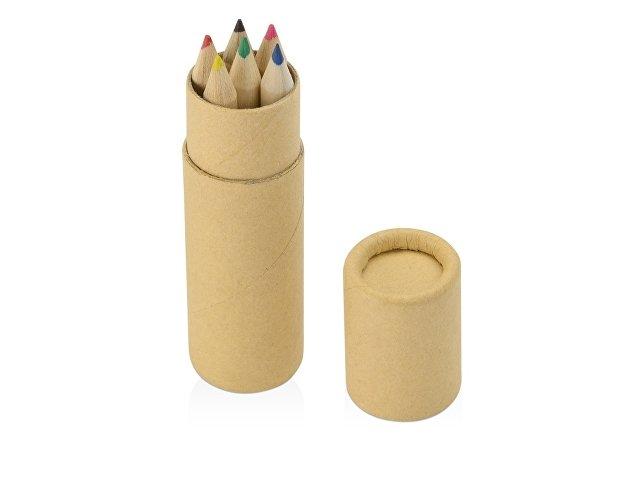 Цветные карандаши в тубусе