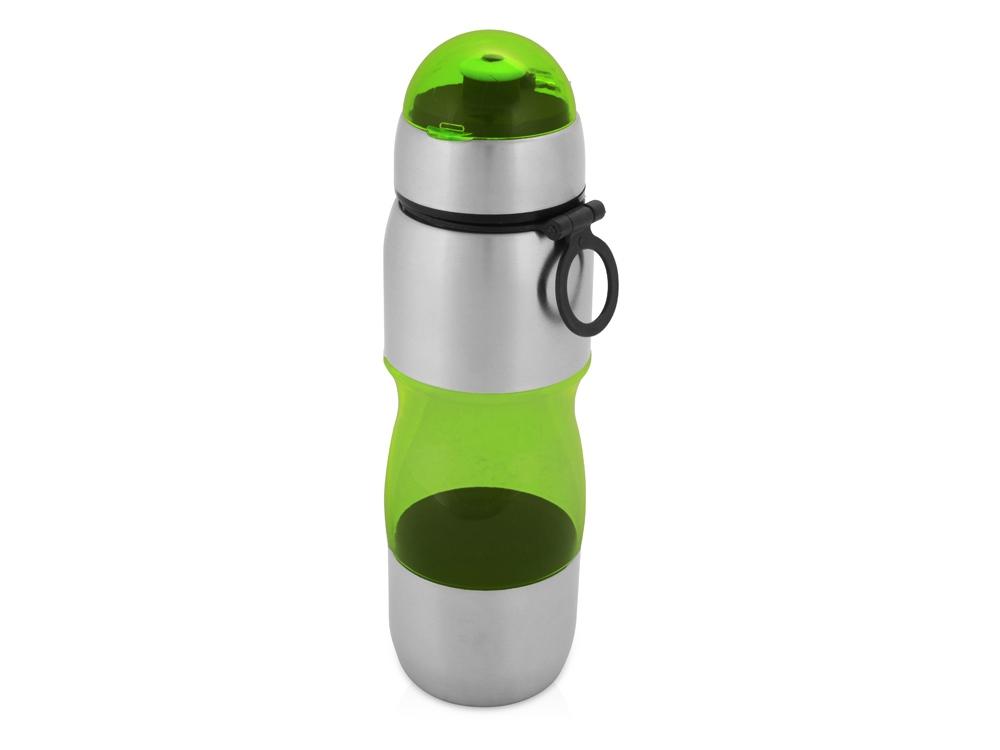 Бутылка спортивная Движение 650мл, зеленый