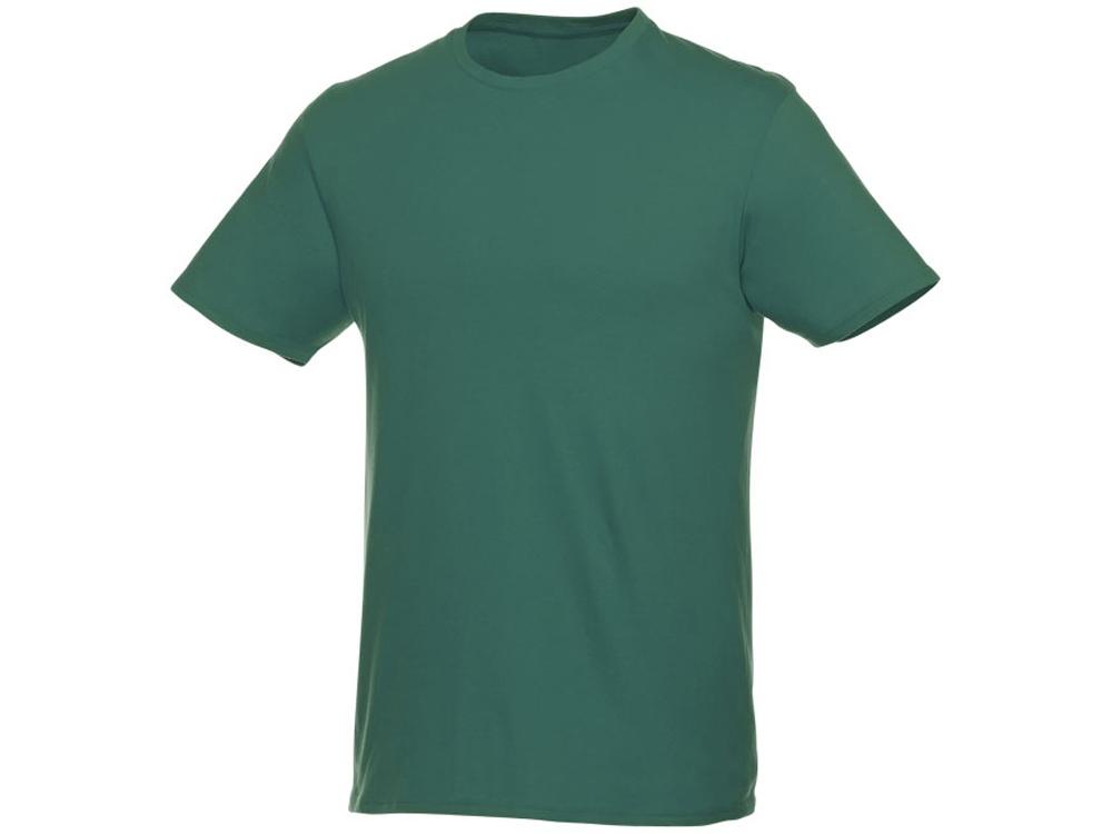 Футболка-унисекс Heros с коротким рукавом, зеленый лесной