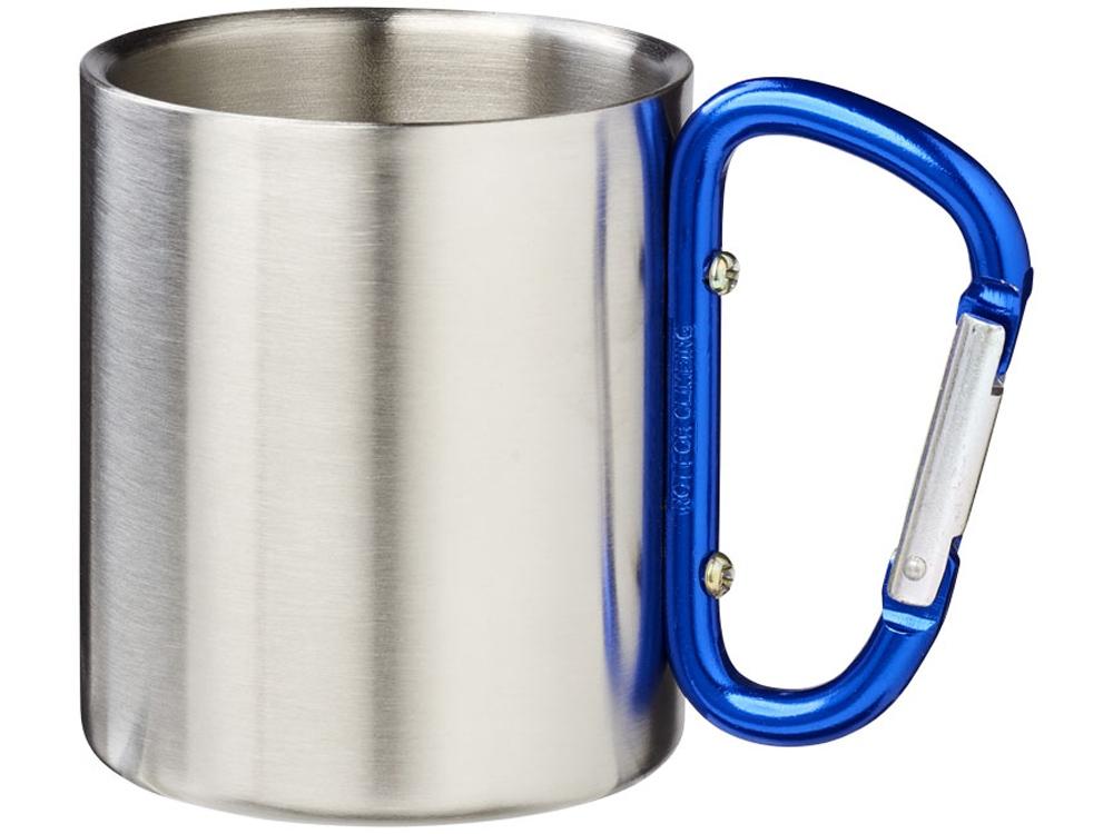 Термокружка с ручкой-карабином Alps 200мл, синий