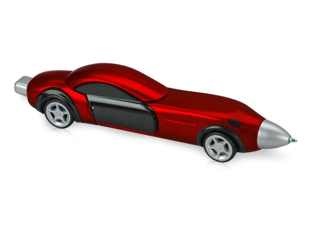 Ручка шариковая Сан-Марино в форме автомобиля с открывающимися дверями и инерционным механизмом движения, красная
