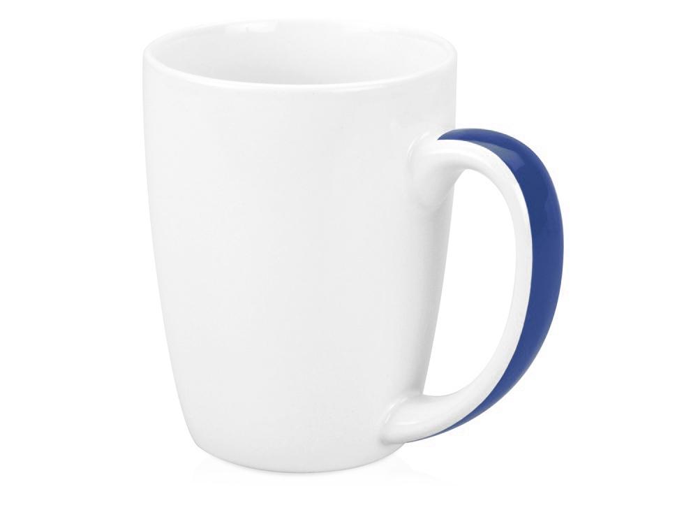 Кружка Good Day 320мл, белый/синий