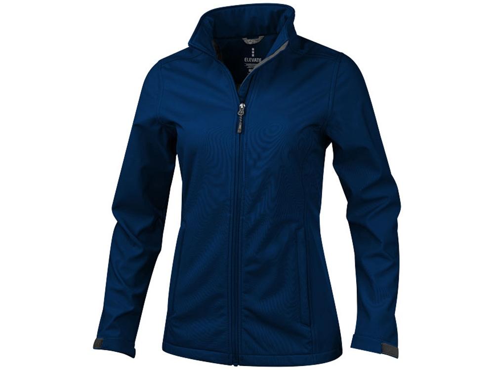 Куртка софтшел Maxson женская, темно-синий