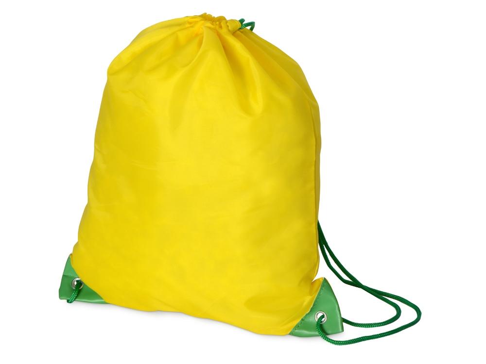 Рюкзак- мешок Clobber, желтый/зеленый