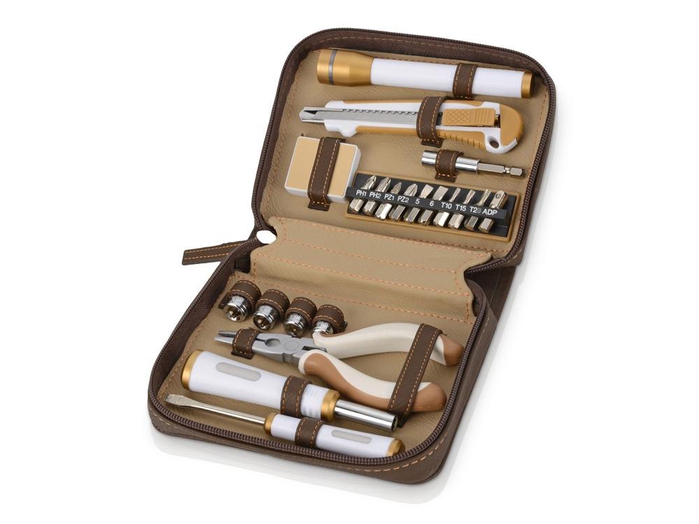 Набор инструментов с фонарем, 21 предмет