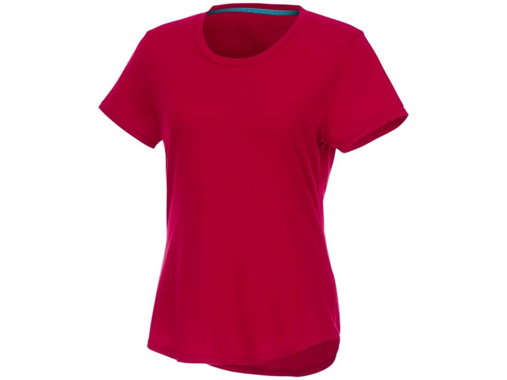 Женская футболка Jade из переработанных материалов с коротким рукавом, красный