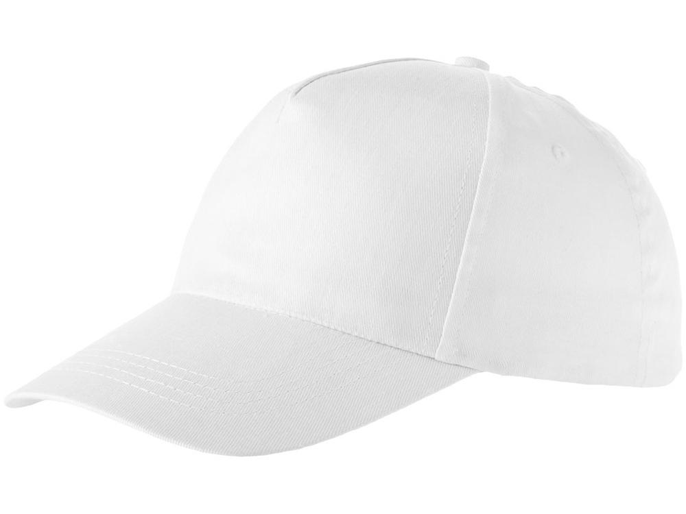 Бейсболка Memphis 5-ти панельная, белый