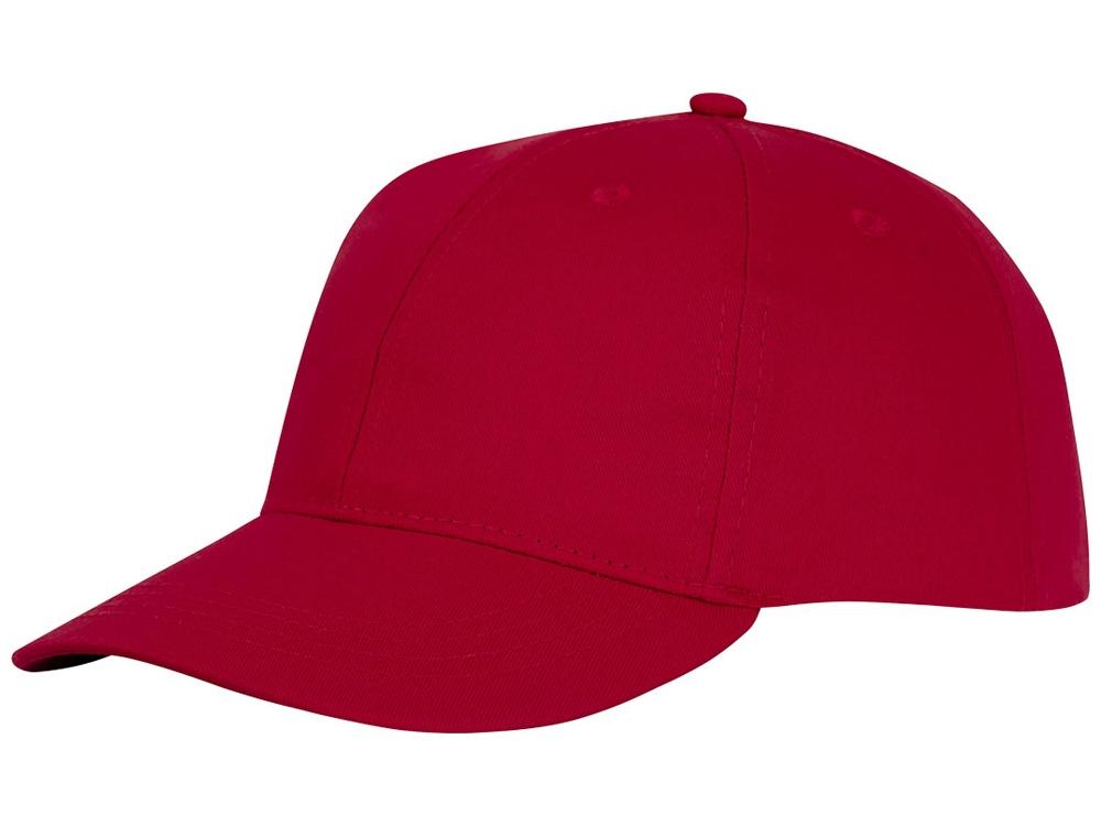 Шестипанельная кепка Ares, красный