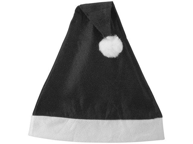 Новогодняя шапка, черный/белый
