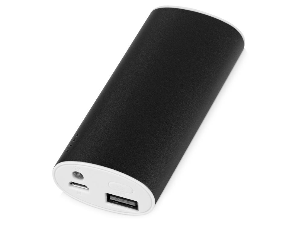 Портативное зарядное устройство Квазар, 4400 mAh, черный
