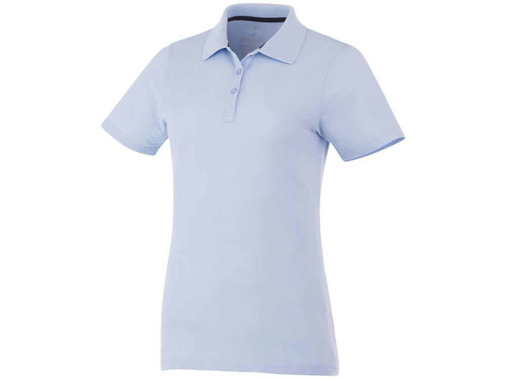 Рубашка поло Primus женская, светло-синий