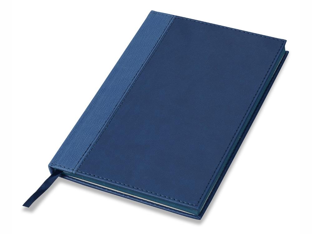 Блокнот А5 Frontier, темно-синий. Lettertone