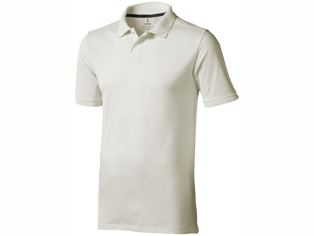 Рубашка поло Calgary мужская, светло-серый