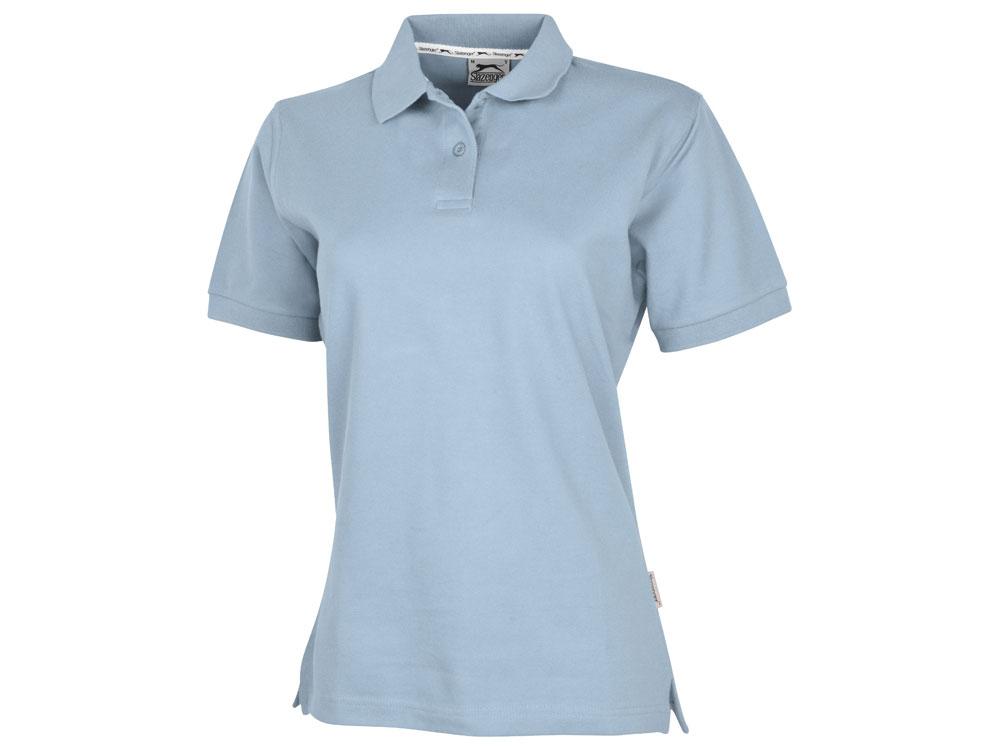 Рубашка поло Forehand женская, голубой