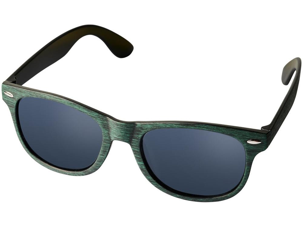Солнечные очки Sun Ray с цветным покрытием, зеленый