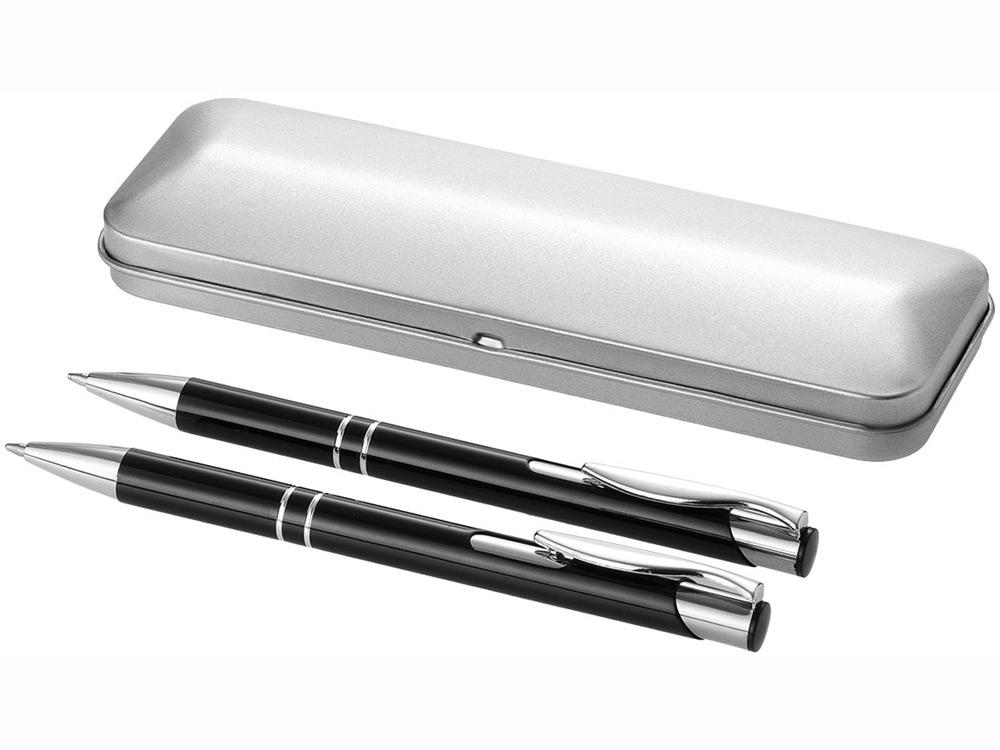Набор Dublin: ручка шариковая, карандаш механический, черный
