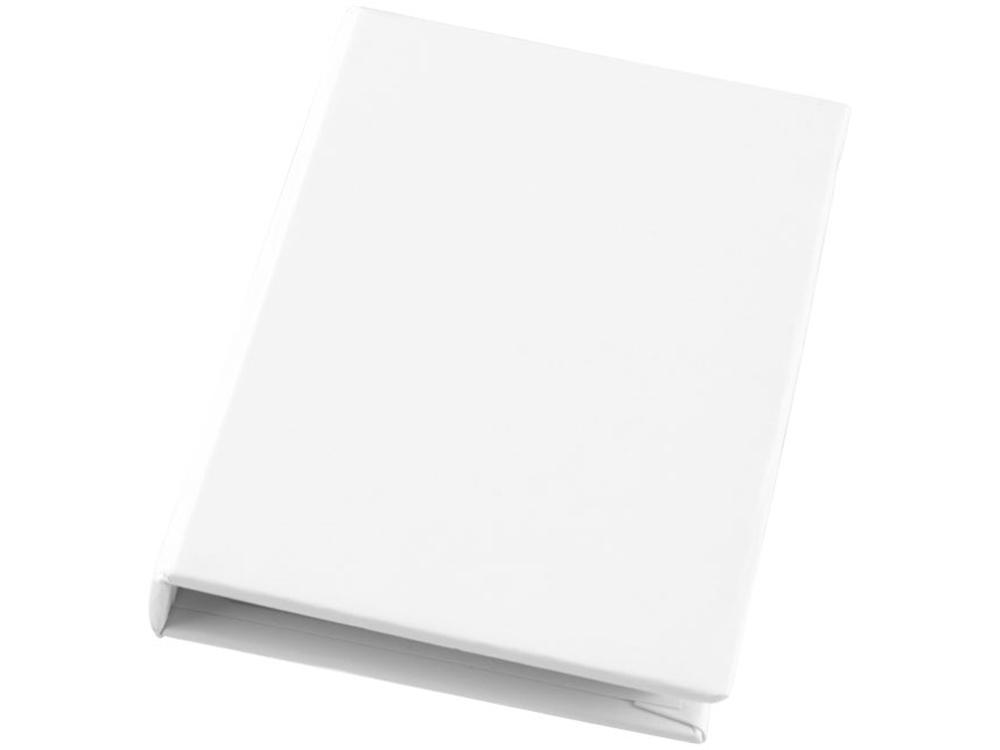 Небольшой комбинированный блокнот, белый