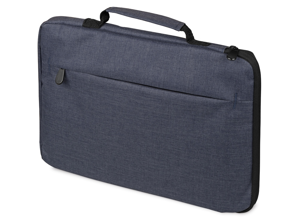 Сумка для ноутбука 13'' Flank с боковой молнией, синий