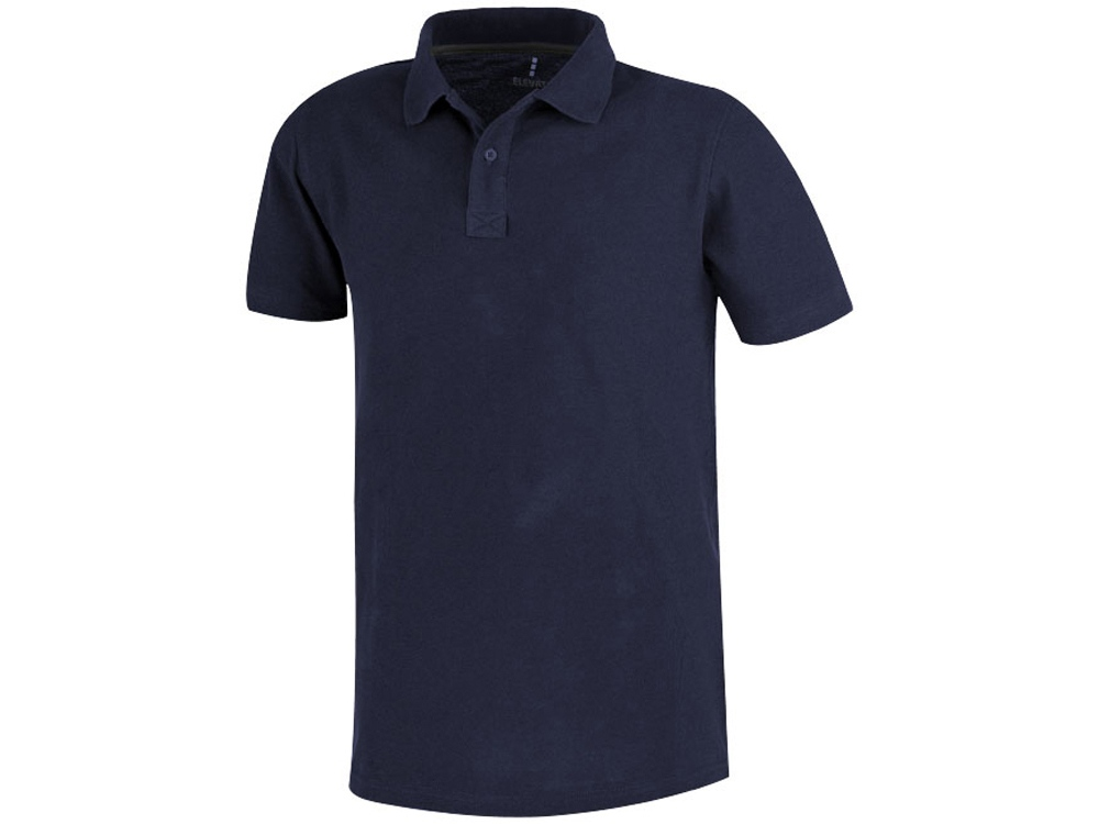 Рубашка поло Primus мужская, темно-синий