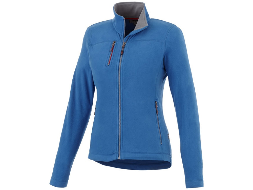 Женская микрофлисовая куртка Pitch, небесно-голубой