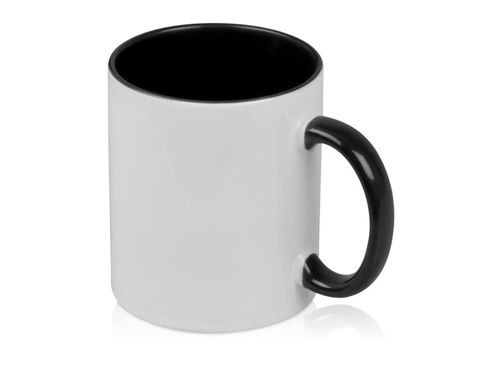 Кружка для сублимации Sublime Color, белый/черный