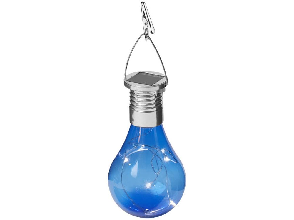 Солнечный диодный фонарь Surya, синий