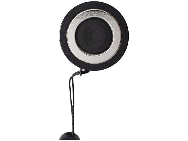 Компактный фонарь с лампой сбоку, черный