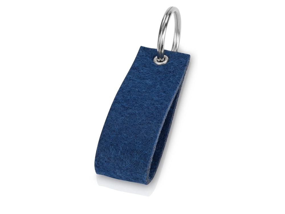 Брелок Войлочный, синий