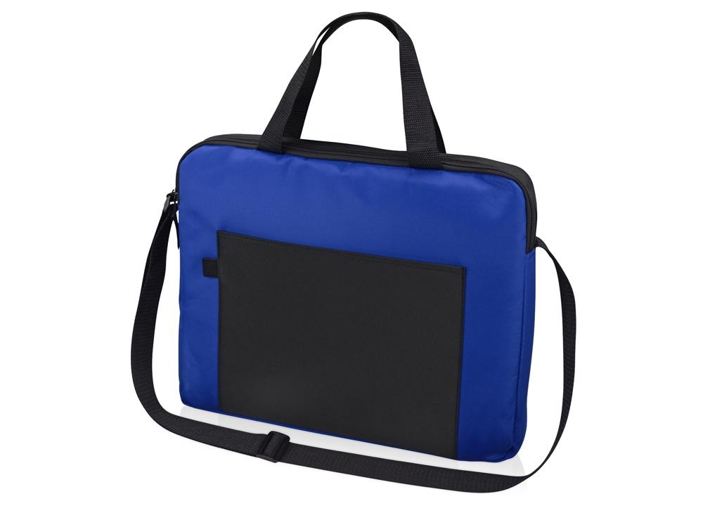 Конференц сумка для документов Congress, синий/черный