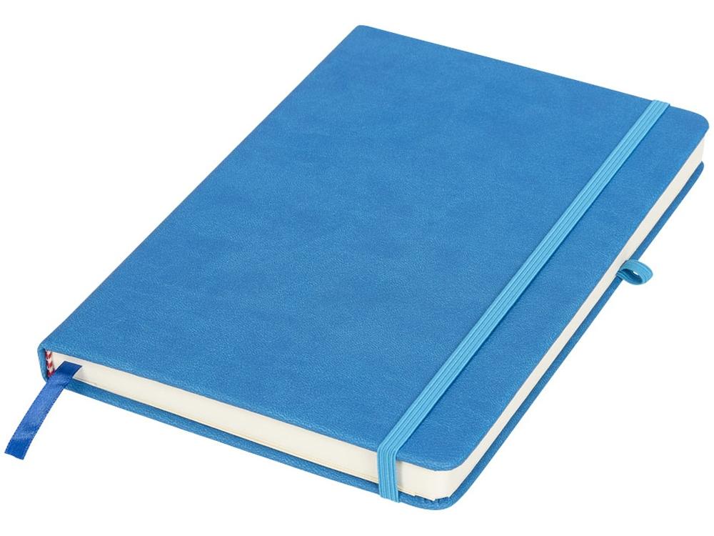 Блокнот Rivista среднего размера, синий