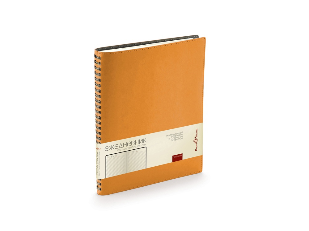 Ежедневник недатированный B5 Tintoretto New, оранжевый