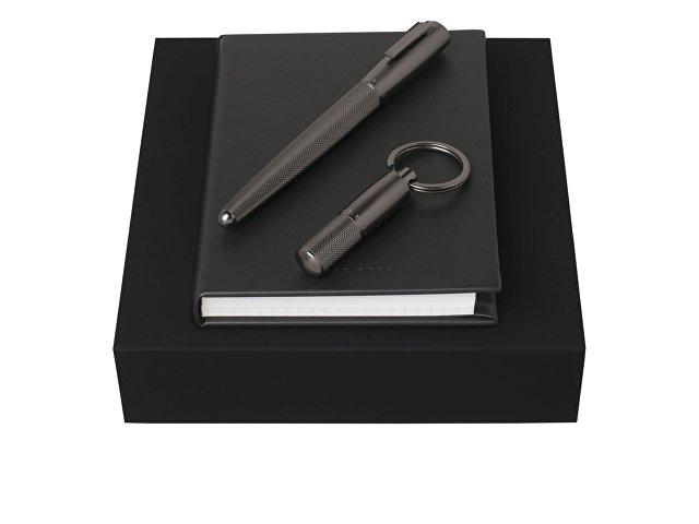 Подарочный набор: брелок, блокнот А6, ручка-роллер