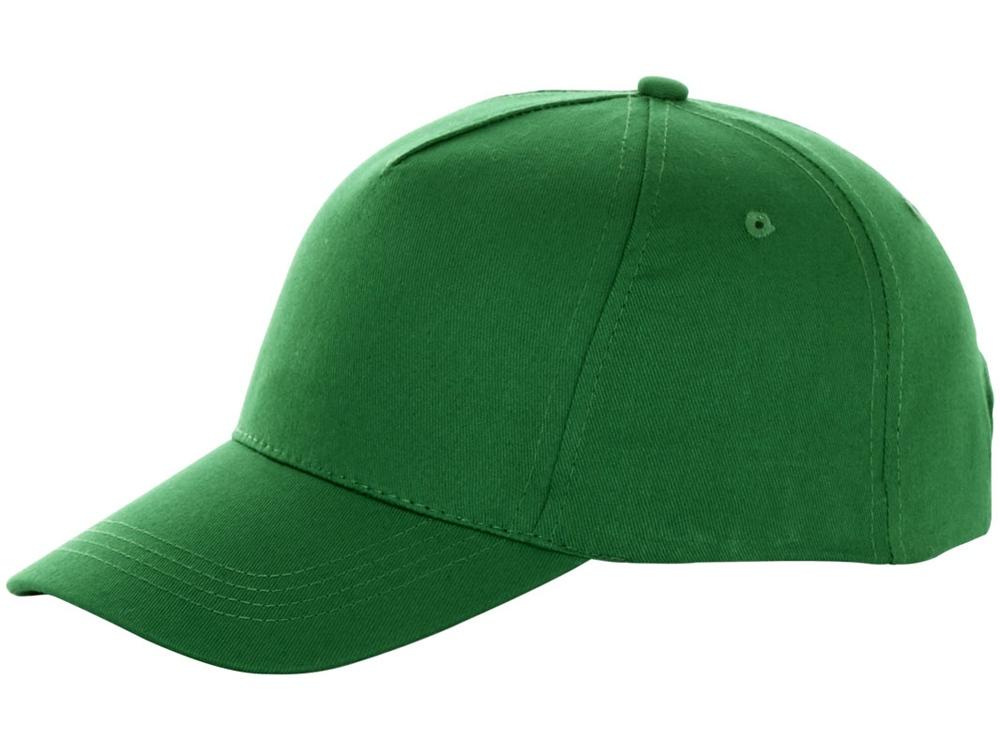 Бейсболка Brunswick, 5 панелей, зеленый