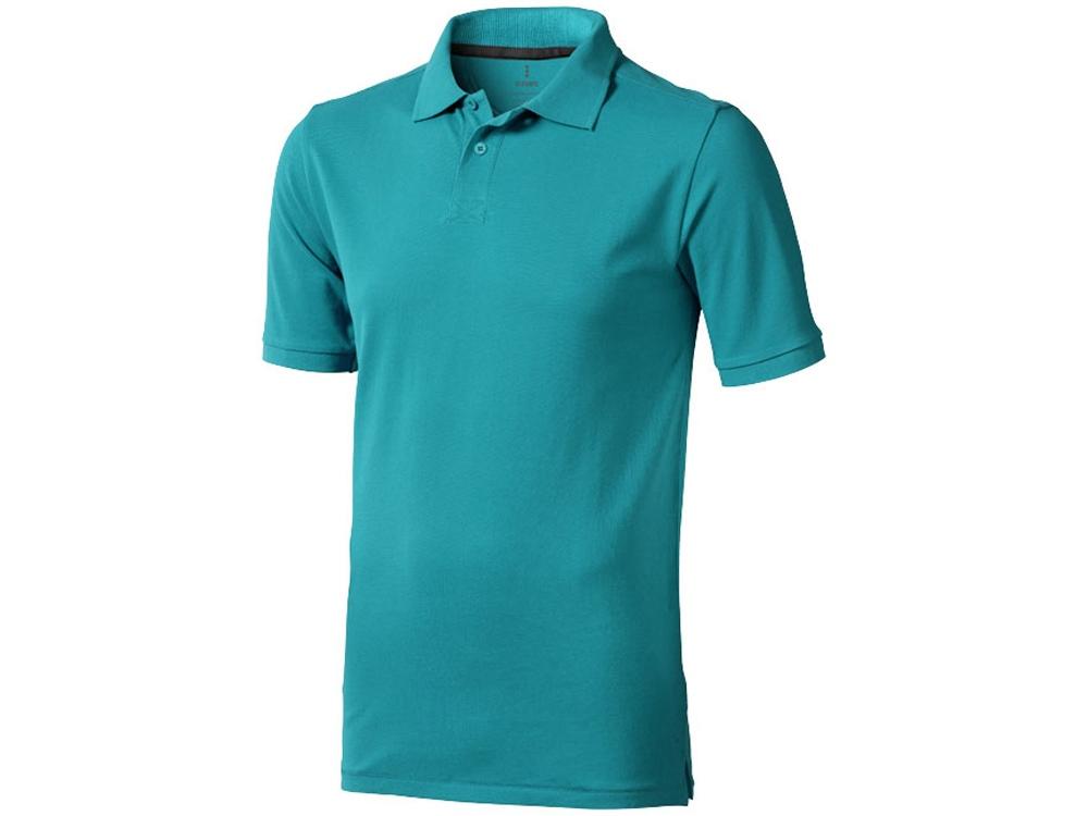 Рубашка поло Calgary мужская, аква