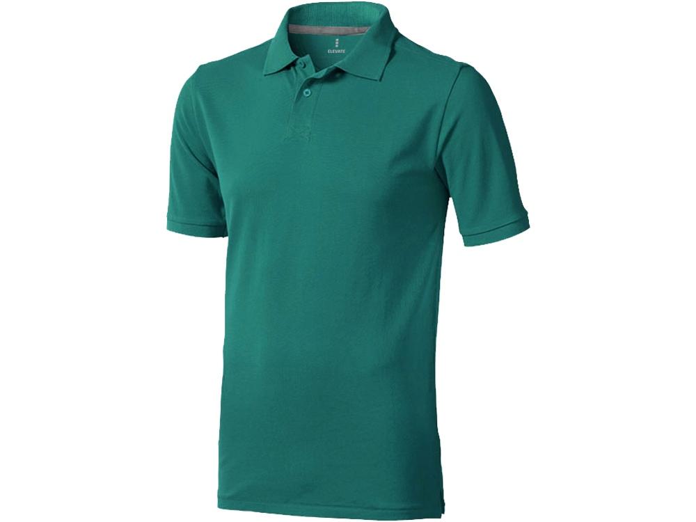 Рубашка поло Calgary мужская, изумрудный