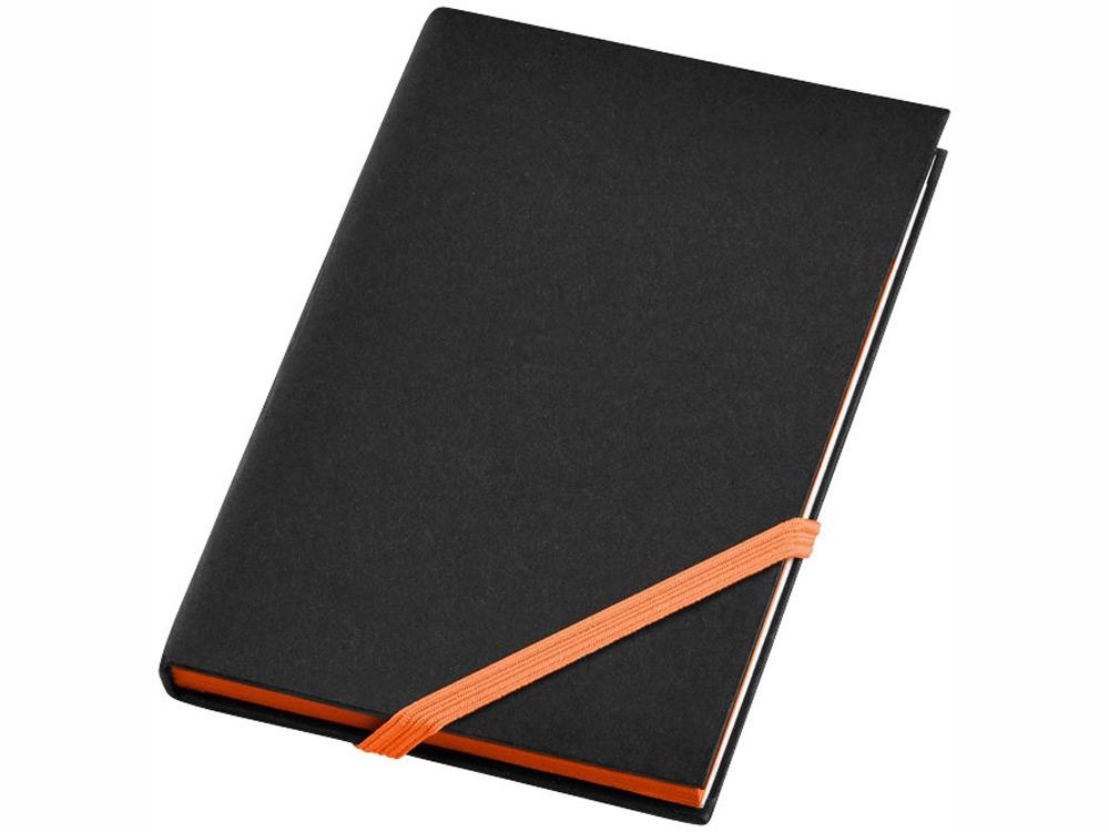 Блокнот А6 Travers Junior, черный/оранжевый