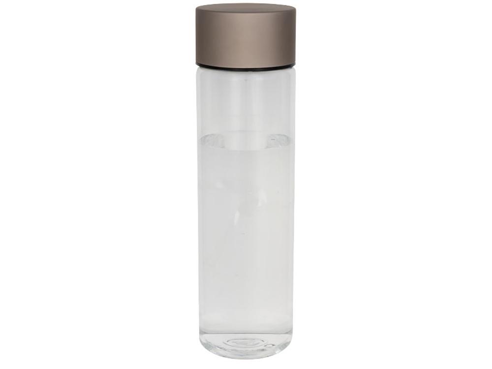 Бутылка Fox 900мл, прозрачный/розовое золото