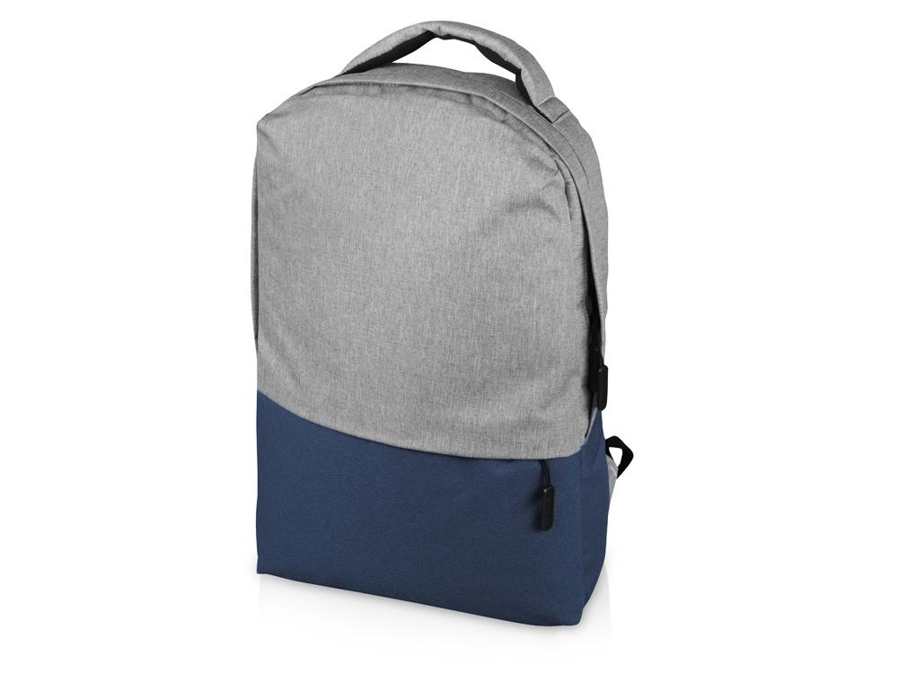 Рюкзак Fiji с отделением для ноутбука, серый/темно-синий