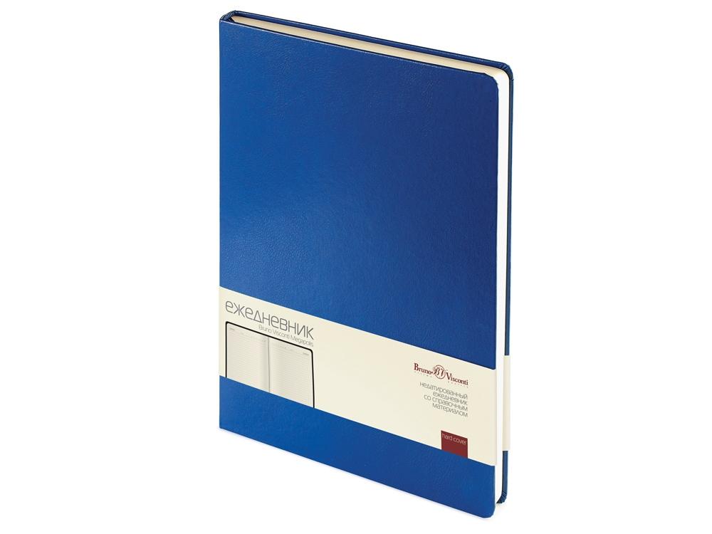 Ежедневник недатированный  А4 Megapolis синий