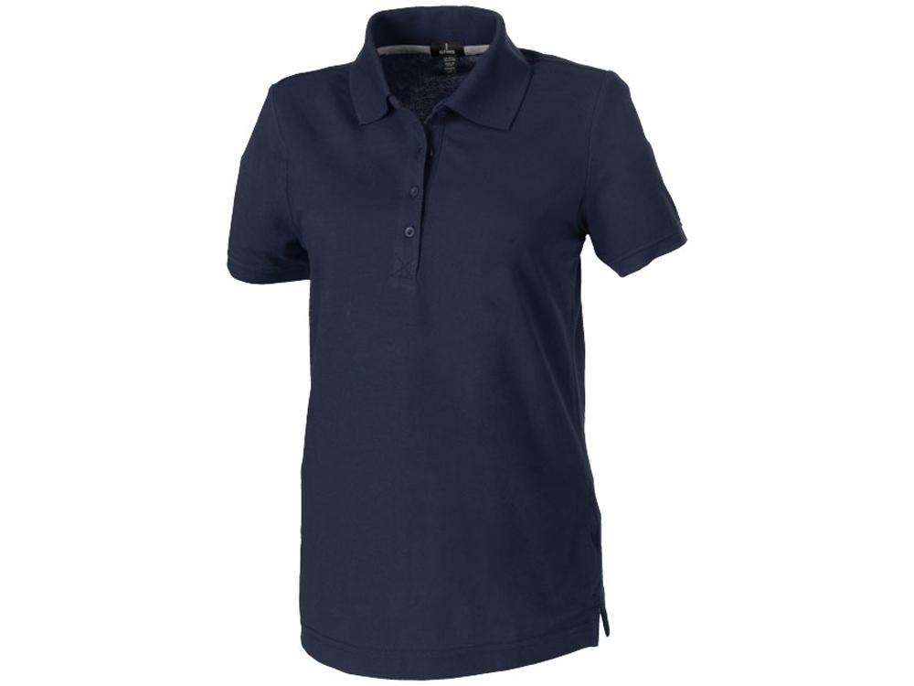 Рубашка поло Crandall женская, темно-синий
