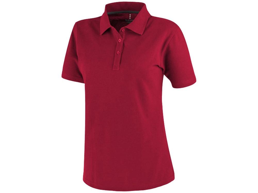 Рубашка поло Primus женская, красный