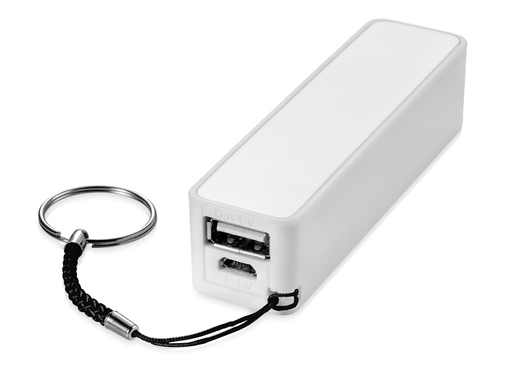 Портативное зарядное устройство Jive, белый