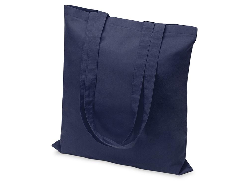 Сумка из хлопка Carryme 105, темно-синий