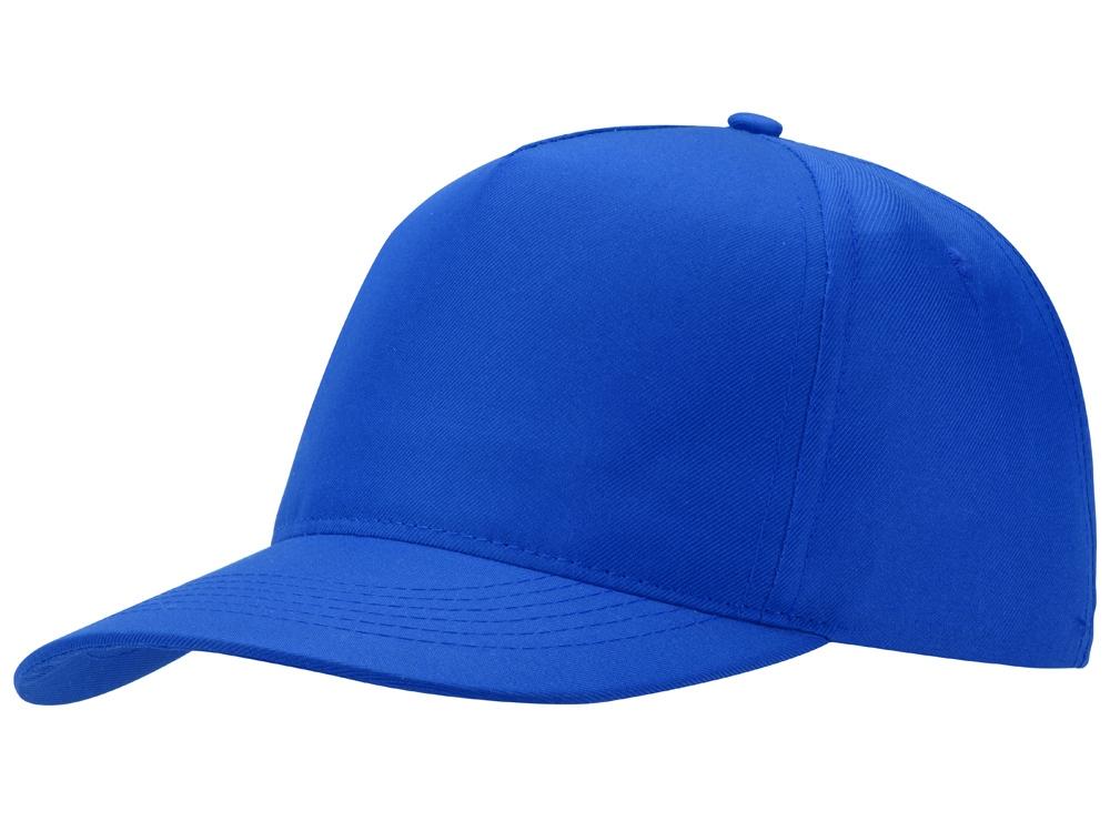 Бейсболка Mix 5-ти панельная, кл. синий